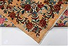 Kerman Blue Hand Knotted 100 X 149  Area Rug 100-27980 Thumb 22