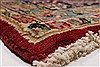Kerman Red Hand Knotted 96 X 126  Area Rug 100-27983 Thumb 11