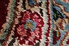 Kerman Red Hand Knotted 96 X 126  Area Rug 100-27983 Thumb 3