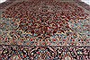 Kerman Red Hand Knotted 96 X 126  Area Rug 100-27983 Thumb 7