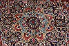 Kerman Red Hand Knotted 96 X 126  Area Rug 100-27983 Thumb 9