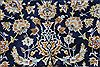 Kashan Beige Hand Knotted 103 X 137  Area Rug 100-27985 Thumb 12