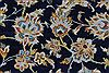Kashan Beige Hand Knotted 103 X 137  Area Rug 100-27985 Thumb 13