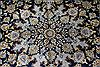 Kashan Beige Hand Knotted 103 X 137  Area Rug 100-27985 Thumb 9