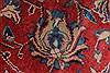 Sarouk Beige Hand Knotted 99 X 130  Area Rug 100-27987 Thumb 11