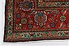 Tabriz Red Hand Knotted 98 X 128  Area Rug 100-27989 Thumb 10