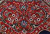 Tabriz Red Hand Knotted 98 X 128  Area Rug 100-27989 Thumb 13