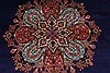 Tabriz Red Hand Knotted 98 X 128  Area Rug 100-27989 Thumb 9