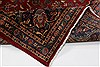 Kashmar Red Hand Knotted 99 X 131  Area Rug 100-27991 Thumb 1