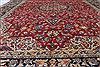 Isfahan Red Hand Knotted 101 X 136  Area Rug 100-27996 Thumb 5