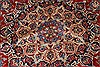 Isfahan Red Hand Knotted 101 X 136  Area Rug 100-27996 Thumb 7