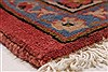 Isfahan Red Hand Knotted 95 X 131  Area Rug 100-27999 Thumb 10