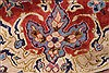 Isfahan Red Hand Knotted 95 X 131  Area Rug 100-27999 Thumb 14