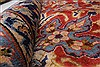 Isfahan Red Hand Knotted 95 X 131  Area Rug 100-27999 Thumb 3