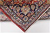 Isfahan Red Hand Knotted 95 X 131  Area Rug 100-27999 Thumb 4