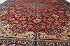 Isfahan Red Hand Knotted 95 X 131  Area Rug 100-27999 Thumb 6