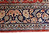 Isfahan Red Hand Knotted 95 X 131  Area Rug 100-27999 Thumb 7