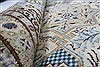 Kashan Beige Hand Knotted 85 X 125  Area Rug 100-28003 Thumb 2