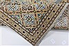 Kashan Beige Hand Knotted 85 X 125  Area Rug 100-28003 Thumb 3