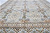 Kashan Beige Hand Knotted 85 X 125  Area Rug 100-28003 Thumb 5
