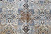 Kashan Beige Hand Knotted 85 X 125  Area Rug 100-28003 Thumb 7