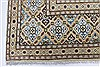 Kashan Beige Hand Knotted 85 X 125  Area Rug 100-28003 Thumb 8