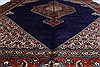 Tabriz Red Hand Knotted 98 X 123  Area Rug 100-28006 Thumb 37