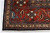 Tabriz Red Hand Knotted 98 X 123  Area Rug 100-28006 Thumb 38