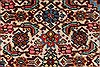 Tabriz Red Hand Knotted 98 X 123  Area Rug 100-28006 Thumb 41