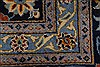 Kashan Beige Hand Knotted 100 X 131  Area Rug 100-28007 Thumb 12