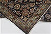 Kashan Beige Hand Knotted 100 X 131  Area Rug 100-28007 Thumb 4