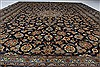 Kashan Beige Hand Knotted 100 X 131  Area Rug 100-28007 Thumb 6
