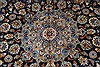Kashan Beige Hand Knotted 100 X 131  Area Rug 100-28007 Thumb 8