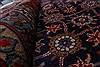Varamin Blue Hand Knotted 82 X 109  Area Rug 100-28011 Thumb 2