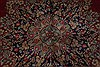 Kerman Red Hand Knotted 97 X 125  Area Rug 100-28012 Thumb 11