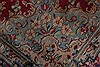 Kerman Red Hand Knotted 97 X 125  Area Rug 100-28012 Thumb 1