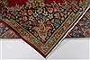 Kerman Red Hand Knotted 97 X 125  Area Rug 100-28012 Thumb 7