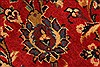 Kashan Red Hand Knotted 96 X 129  Area Rug 100-28015 Thumb 10