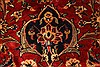 Kashan Red Hand Knotted 96 X 129  Area Rug 100-28015 Thumb 12
