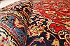 Kashan Red Hand Knotted 96 X 129  Area Rug 100-28015 Thumb 2