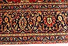 Kashan Red Hand Knotted 96 X 129  Area Rug 100-28015 Thumb 6