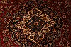 Kashan Red Hand Knotted 96 X 129  Area Rug 100-28015 Thumb 7