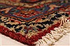 Kashan Red Hand Knotted 96 X 129  Area Rug 100-28015 Thumb 9