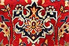 Isfahan Red Hand Knotted 98 X 139  Area Rug 100-28016 Thumb 11