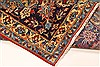 Isfahan Red Hand Knotted 98 X 139  Area Rug 100-28016 Thumb 3
