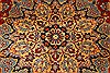 Isfahan Red Hand Knotted 98 X 139  Area Rug 100-28016 Thumb 7