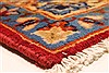 Isfahan Red Hand Knotted 98 X 139  Area Rug 100-28016 Thumb 9