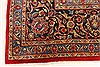 Kashan Red Hand Knotted 98 X 128  Area Rug 100-28018 Thumb 11