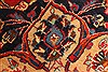 Kashan Red Hand Knotted 98 X 128  Area Rug 100-28018 Thumb 14
