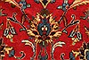 Kashan Red Hand Knotted 98 X 128  Area Rug 100-28018 Thumb 15